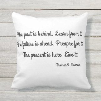 Quote Outdoor Pillow