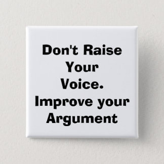 quote, parenting 2 inch square button