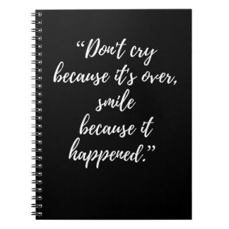 Quote Photo Notebook Inspirational Day Quote gift