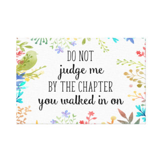 Quote Print, positive quote canvas