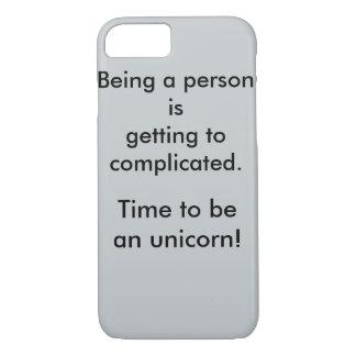 Quote printed iPhone 7 case