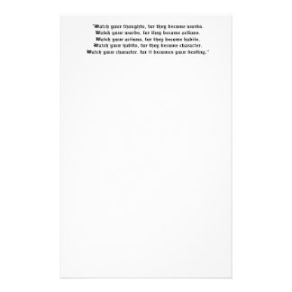 Quote Stationery
