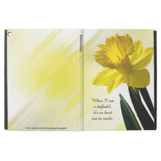 """Quote:  """"When I see a daffodil ...""""  Flower Pics"""