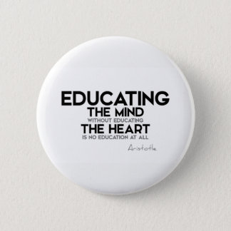 QUOTES: Aristotle: Essence of life 2 Inch Round Button
