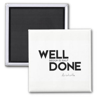 QUOTES: Aristotle: Well done Magnet
