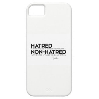 QUOTES: Buddha: Hatred, non-hatred iPhone 5 Covers