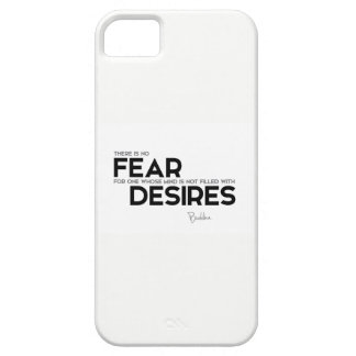 QUOTES: Buddha: No fear, no desires iPhone 5 Cover