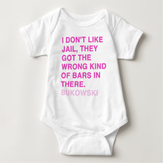 Quotes by Charles Bukowski Baby Bodysuit