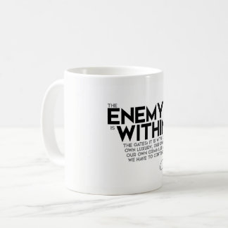 QUOTES: Cicero: Enemy within the gates Coffee Mug