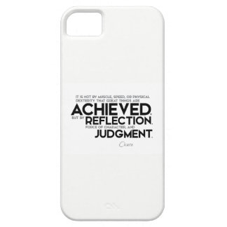 QUOTES: Cicero: Force of character Case For The iPhone 5