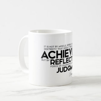 QUOTES: Cicero: Force of character Coffee Mug