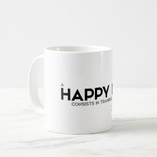 QUOTES: Cicero: Tranquility of mind Coffee Mug