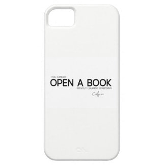 QUOTES: Confucius: Open a book Case For The iPhone 5