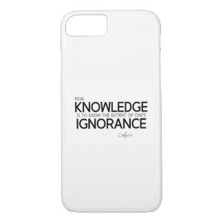 QUOTES: Confucius: Real knowledge iPhone 8/7 Case