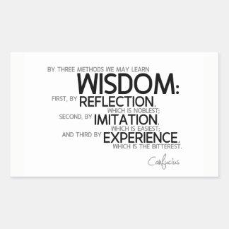 QUOTES: Confucius: Wisdom: reflection, imitation