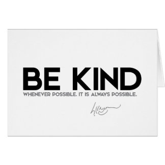 QUOTES: Dalai Lama - Be Kind Card