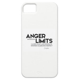 QUOTES: Euripides: Anger limits, kindness iPhone 5 Case