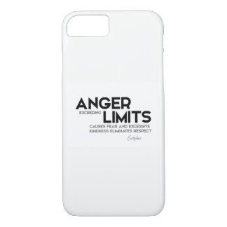 QUOTES: Euripides: Anger limits, kindness iPhone 8/7 Case