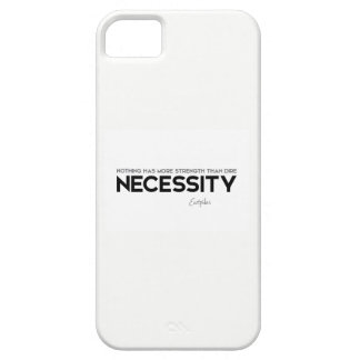 QUOTES: Euripides: Dire necessity iPhone 5 Cases