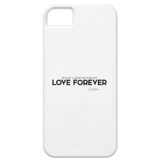 QUOTES: Euripides: Love forever iPhone 5 Case