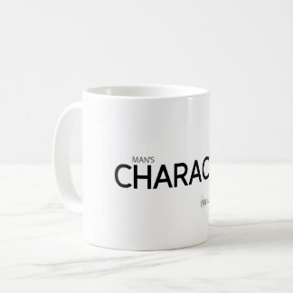 QUOTES: Heraclitus: Man's character Coffee Mug