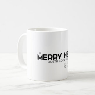 QUOTES: King Solomon: A merry heart Coffee Mug