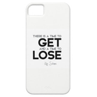 QUOTES: King Solomon: Time to get, time to lose Case For The iPhone 5