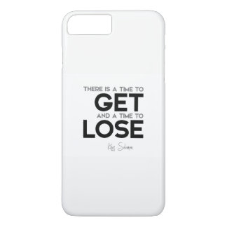 QUOTES: King Solomon: Time to get, time to lose iPhone 8 Plus/7 Plus Case