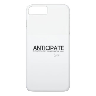 QUOTES: Lao Tzu: Anticipate difficult iPhone 8 Plus/7 Plus Case