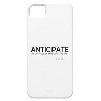 QUOTES: Lao Tzu: Anticipate iPhone 5 Case