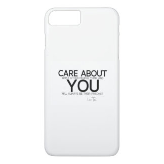 QUOTES: Lao Tzu: Care about you iPhone 8 Plus/7 Plus Case