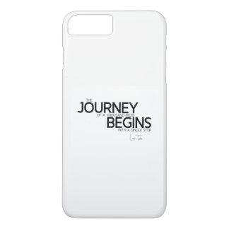 QUOTES: Lao Tzu: Journey thousand miles iPhone 8 Plus/7 Plus Case