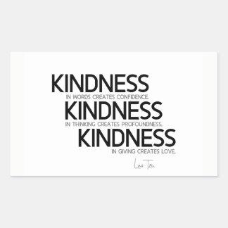 QUOTES: Lao Tzu: Kindness Sticker