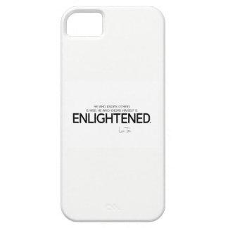 QUOTES: Lao Tzu: Know, wise, enlightened iPhone 5 Case