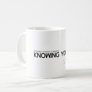QUOTES: Lao Tzu: Knowing yourself Coffee Mug