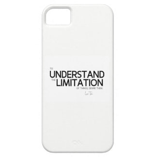 QUOTES: Lao Tzu: Limitation of things iPhone 5 Case