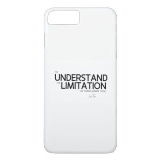 QUOTES: Lao Tzu: Limitation of things iPhone 8 Plus/7 Plus Case