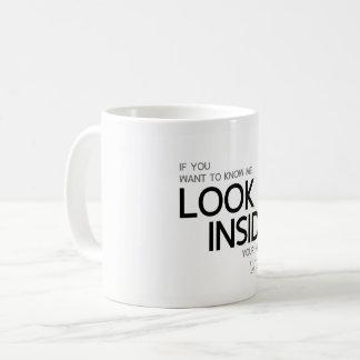 QUOTES: Lao Tzu: Look inside Coffee Mug
