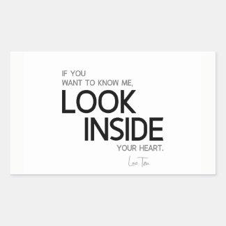 QUOTES: Lao Tzu: Look inside Sticker