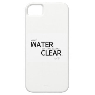 QUOTES: Lao Tzu: Muddy water Case For The iPhone 5