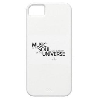 QUOTES: Lao Tzu: Music is soul iPhone 5 Case