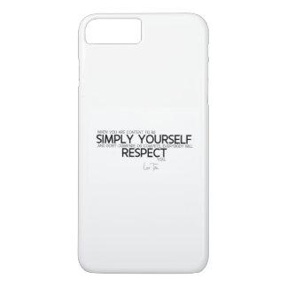 QUOTES: Lao Tzu: Simply yourself iPhone 8 Plus/7 Plus Case