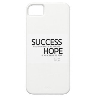 QUOTES: Lao Tzu: Success, hope iPhone 5 Covers