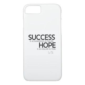 QUOTES: Lao Tzu: Success, hope iPhone 8/7 Case