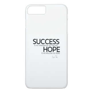 QUOTES: Lao Tzu: Success, hope iPhone 8 Plus/7 Plus Case
