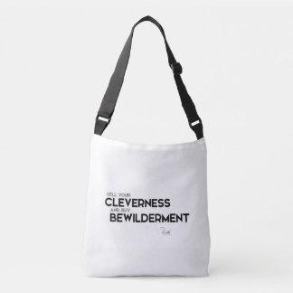 QUOTES: Rumi: Buy bewilderment Crossbody Bag