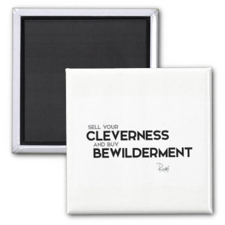 QUOTES: Rumi: Buy bewilderment Magnet