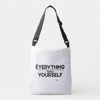 QUOTES: Rumi: Within you Crossbody Bag