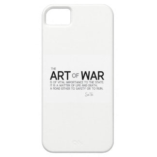 QUOTES: Sun Tzu: Art of war, life and death iPhone 5 Covers