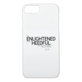 QUOTES: Sun Tzu: Enlightened ruler iPhone 8/7 Case